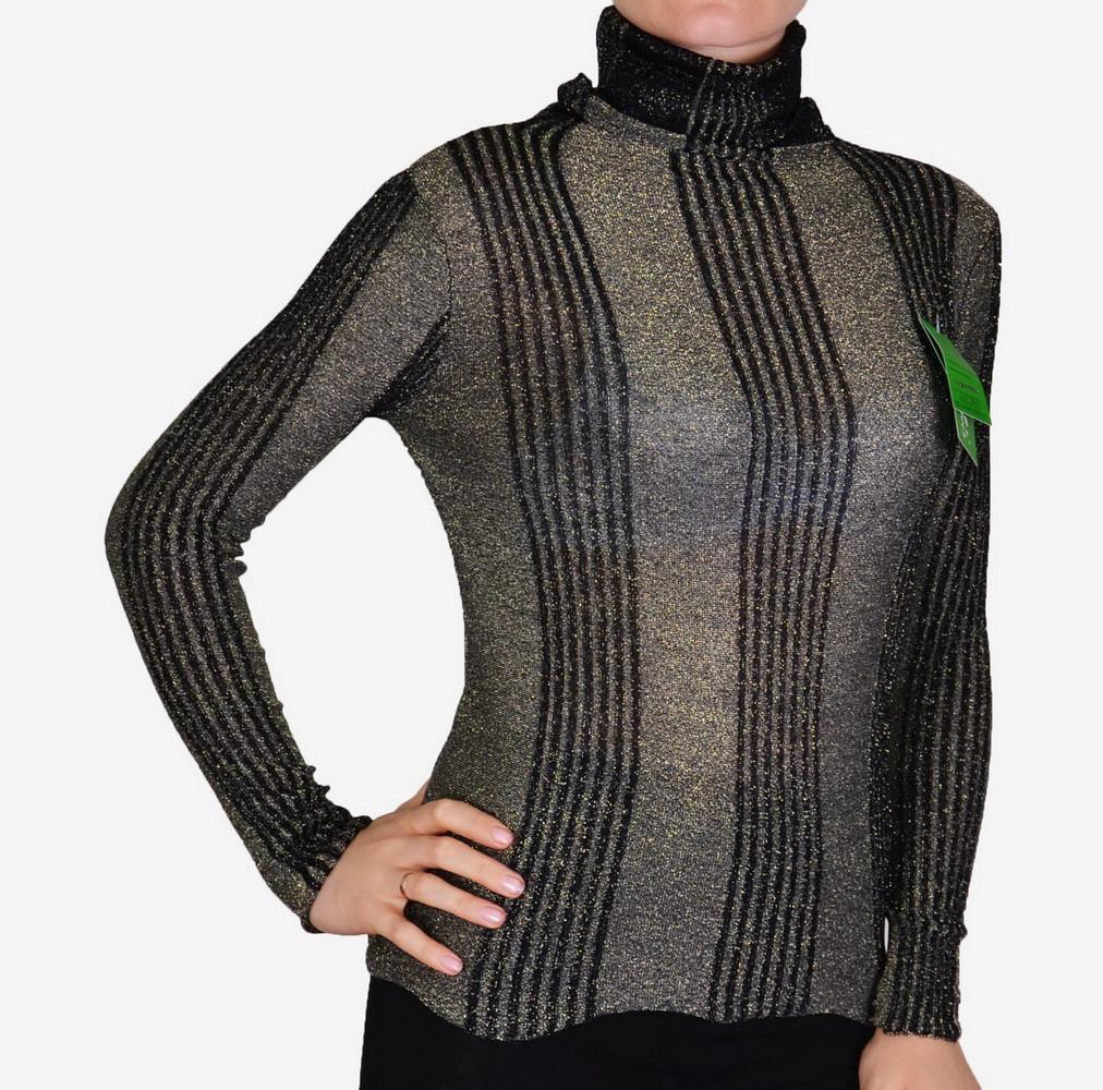Тонкий свитер с люрексом (N9609)   5 шт.
