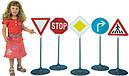 Набор дорожных автомобильных знаков №1 Klein 2980, фото 3