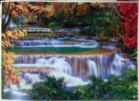 Фотообои, горная река, природа,  ПРЕСТИЖ №17 272смХ196см