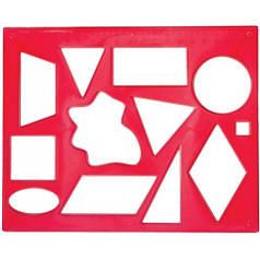 Трафарет геометрических фигур №2 12С837-08 370178