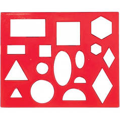 Трафарет геометрических фигур №1 12С836-08 370177
