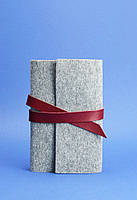 Кожаный блокнот BlankNote 1.0 Серый (BN-SB-1-st-flt-vin)