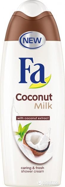 """Гель для душа Fa """"Coconut Milk. Кокосовое молоко"""" (250мл.)"""