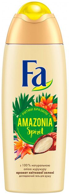 """Гель для душа Fa """"Ритмы Бразилии. Amazonia Spirit"""" (250мл.)"""