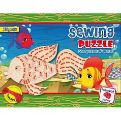 Набор для детского творчества Шнуровка Рыбка 952969