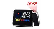 Годинник-метеостанція з проектором часу Good Idea DS-8190 Чорний (hub_ISGl81141)