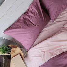 Комплект постельного белья Хлопковые Традиции Двухспальный 175x215 Фиолетово-розовый (PF042_двуспальный)