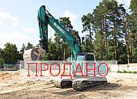 Полноповоротный гусеничный экскаватор Kobelco SK 170 LC-6E