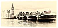 Картина на холсте Декор Карпаты Лондон 50х100 см (g147)
