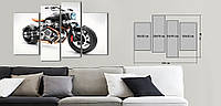 Модульная картина Декор Карпаты Vip Collection 120х80 см (VIP-M4-N18)