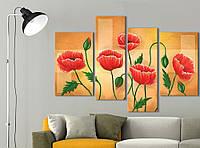 Модульная картина Декор Карпаты Vip Collection 120х80 см (VIP-M4-531)