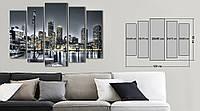 Модульная картина Декор Карпаты Vip Collection 120х80 см (VIP-M5-250)