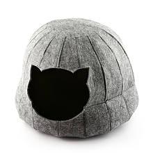 Домик для животных Digitalwool полусфера с подушкой Серый (DW-91-22)