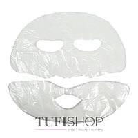 Маска-салфетка косметологическая Doily для лица из двух частей, со спанлейса, 25 шт