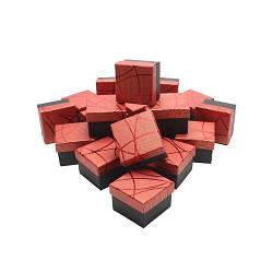 Ring box Ccc1red Подарочная коробка, под кольцо, бумажная, красная - 1078424657
