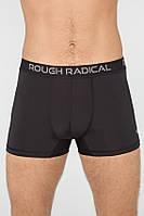 Мужские спортивные трусы-боксеры Radical Bomber XXL Черные (r0705)