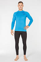 Термобелье спортивное мужское Radical Acres L Черный с голубым (r0450)
