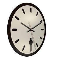 Настенные часы Декор Карпаты UGT008-С Черный (fcru33808)