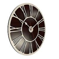 Настенные часы Декор Карпаты UGT011-С Темно-коричневый (uQMZ92491)