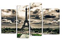 Модульная картина ProfART SM4-g110 110 х 70 см Эйфелева башня (hub_lsJC49414)