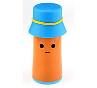 Термос Шляпка оранжевый