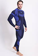 Мужское термобелье Sesto Senso Active L Темно-синее (sns0030)