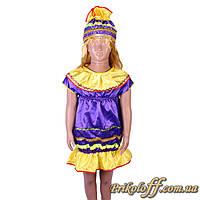 """Детский костюм """"Конфетка - Елочная игрушка"""" (рост 110-116 см)"""