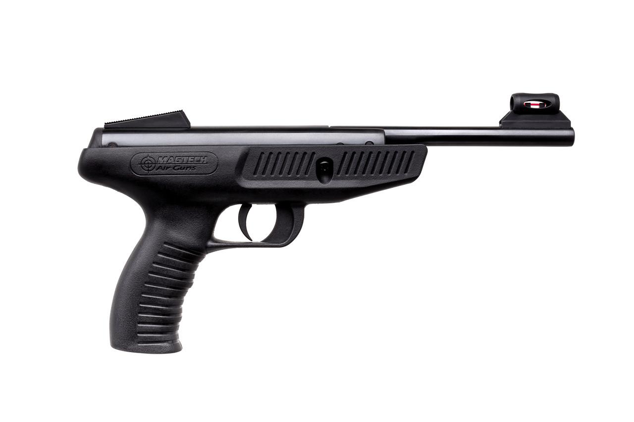 Пистолет пневматический MAGTECH 350 4.5 synthetic blue