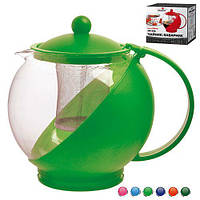 """Заварник стеклянный """"Клаcсик"""" Stenson MS-0118 разные цвета, объем 750 мл, Стеклянные заварники, Посуда для чая и кофе, Чайник, Чайник заварник,"""