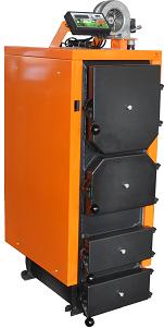 Универсальные котлы отопления длительного горения ДОНТЕРМ КОТ-40Т (на дровах и угле)