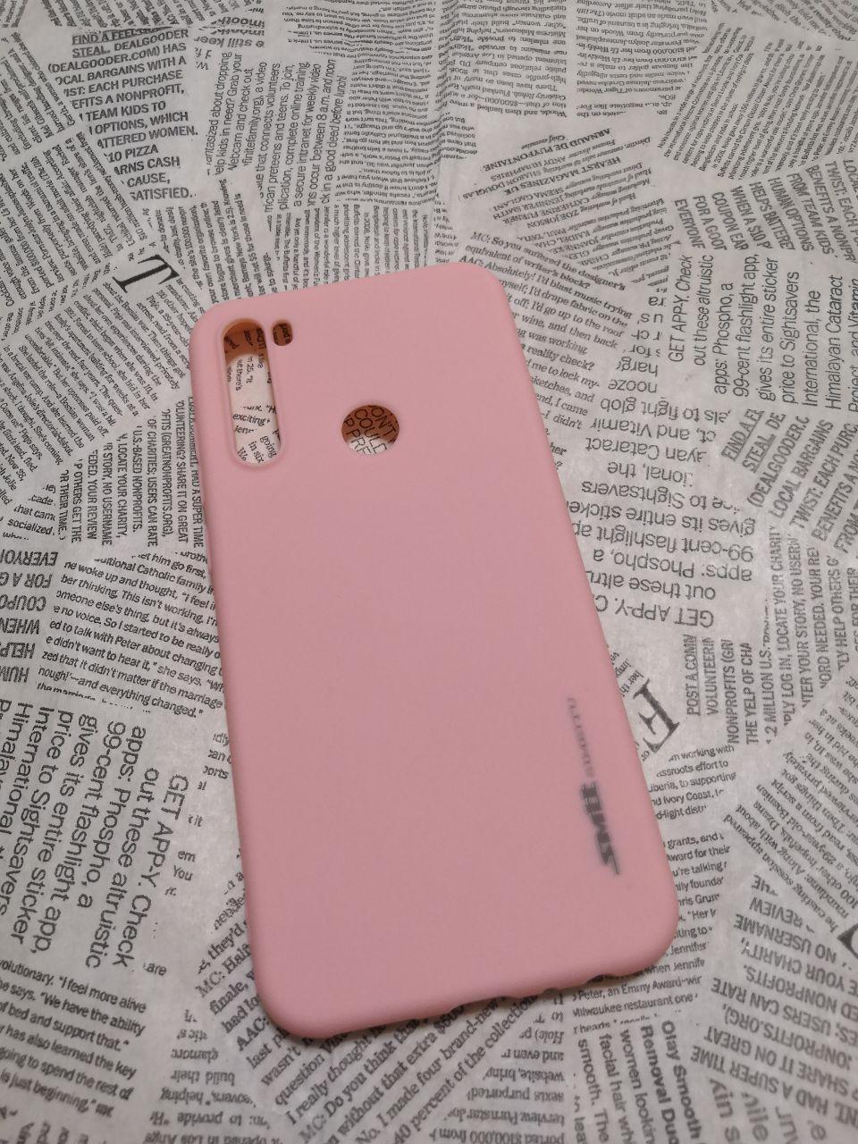 TPU чехол Smitt накладка для Xiaomi (Ксиоми) Redmi Note 8T - фото 2