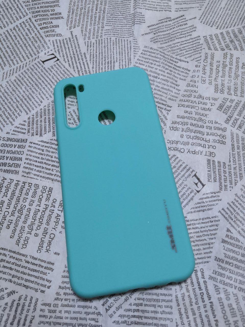 TPU чехол Smitt накладка для Xiaomi (Ксиоми) Redmi Note 8T - фото 3