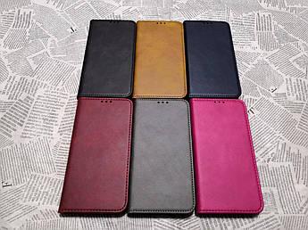 Кожаный чехол книжка Magnet для Xiaomi (Ксиоми) Redmi Note 7