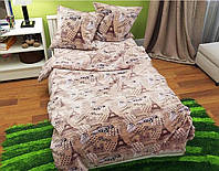 Евро постельное белье БЯЗЬ 100% хлопок 1572188