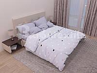 Двуспальное постельное белье БЯЗЬ 100% хлопок  154139