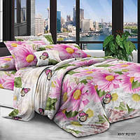 Двуспальное постельное белье полиСАТИН 3D (поликоттон)  852197