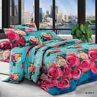 Семейное постельное белье полиСАТИН 3D (поликоттон)85259