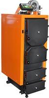 Универсальный твердотопливный котел отопления длительного горения ДОНТЕРМ КОТ-50Т (на дровах и угле)
