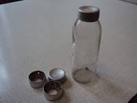 Колпачок-пробка алюминиевый для мерных флаконов К-4.