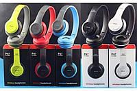 Беспроводные Bluetooth наушники P47BT microSD/Mp3/AUX/FM, разные цвета, Наушники, Наушники беспроводные