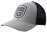 Кепка Black Diamond BD Trucker Hat Heathered Aluminum/Black