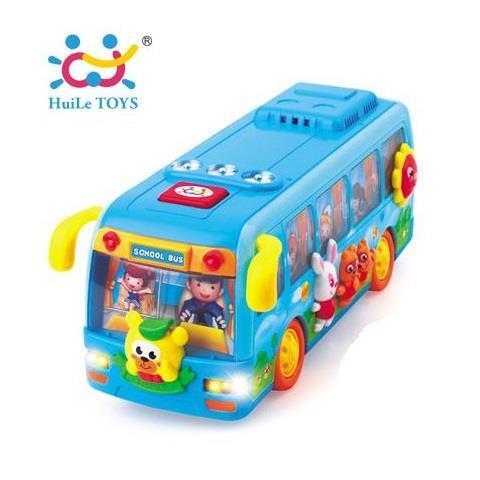 Игрушка Huile Toys Танцующий автобус (908)