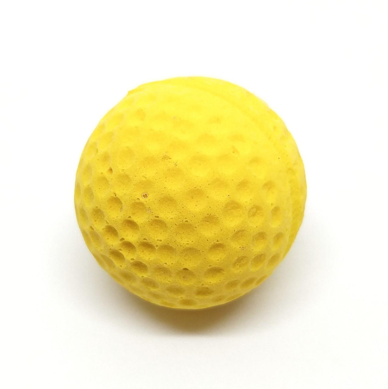 Игрушка для кошек Мячик Zizi жёлтый 4 см