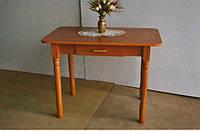 Стол кукхонный розкладной с выдвижным ящиком, фото 1