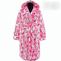 Махровый халат подростковый для девочки с 36 по 46 размер