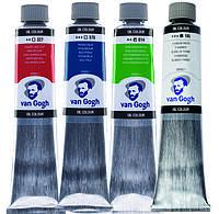 Краска масляная, Van Gogh, 200 мл, Royal Talens, Кобальт синий (ультрамарин)