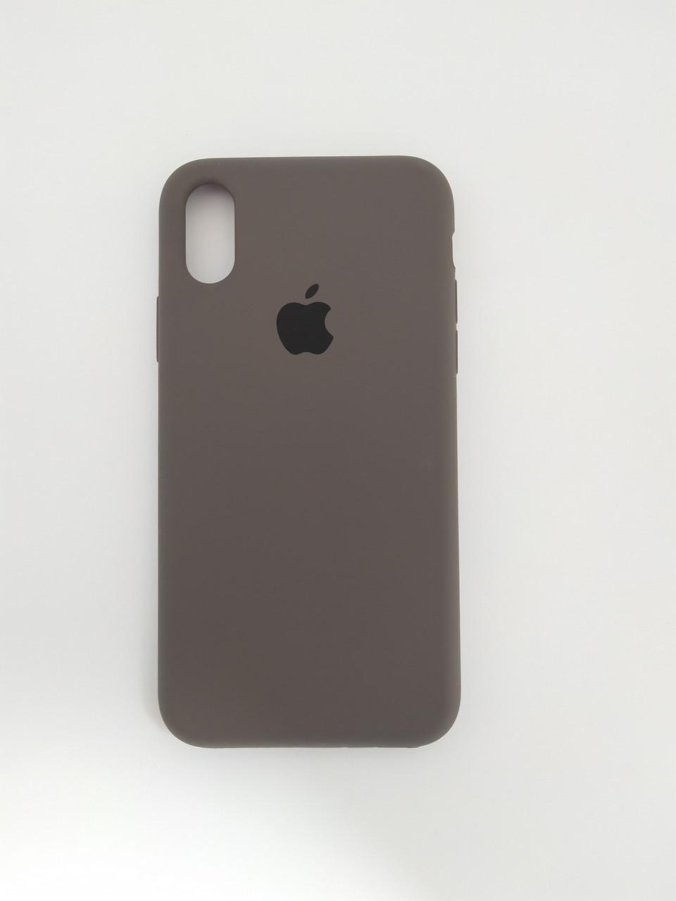 """Чехол Silicon iPhone Xs Max - """"Кофе №22"""""""