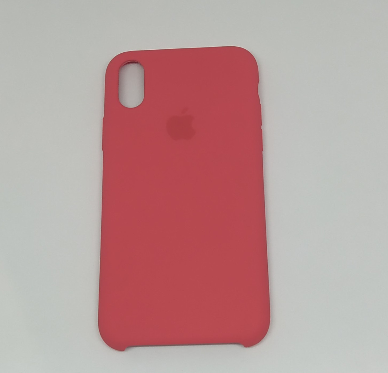"Чохол Silicon iPhone Xs Max - ""Червона малина №39"""