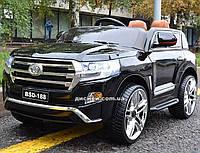 Детский электромобиль M 3984 EBLRS-2 Toyota в автопокраске, черный