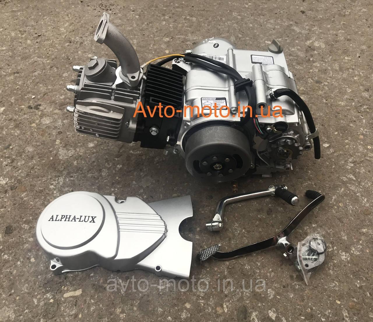 Двигун Дельта/Альфа 110 см3 без стартера механіка